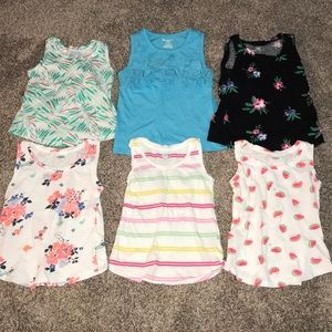 Girls 4t tanks tops bundle
